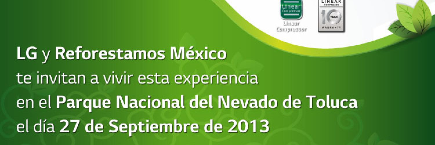 Invitación virtual Reforestamos México 2013